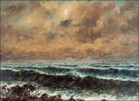 Quel est le nom de cette peinture de Gustave Courbet ?