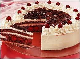 Comment s'appelle ce gâteau d'origine allemande ?