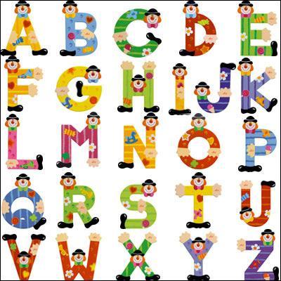 L'alphabet comprend cinq voyelles.