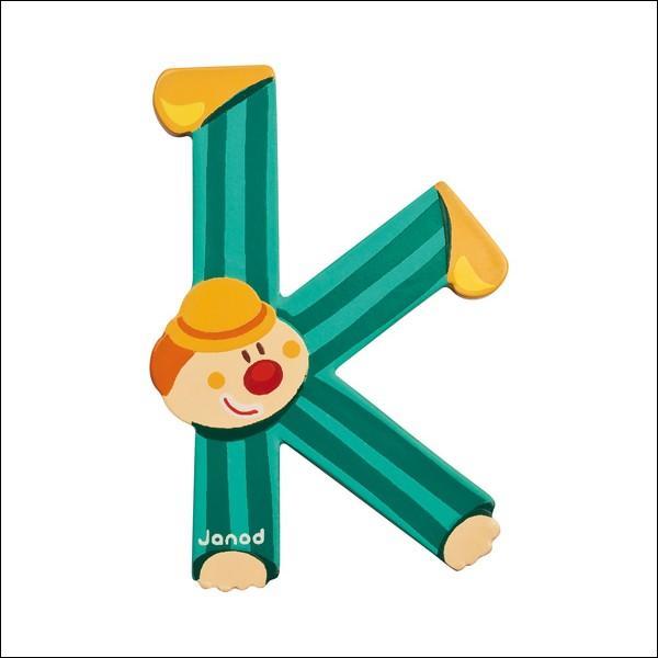 """""""K"""" se trouve entre deux consonnes."""
