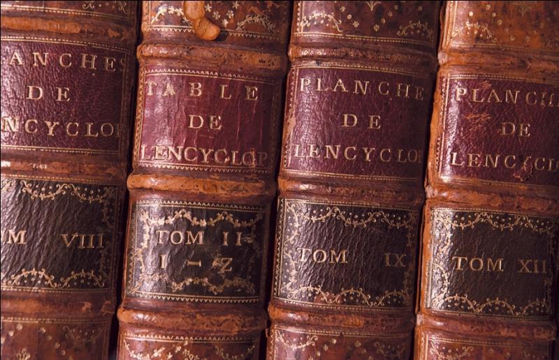 Quand l'encyclopédie est-elle apparue ?
