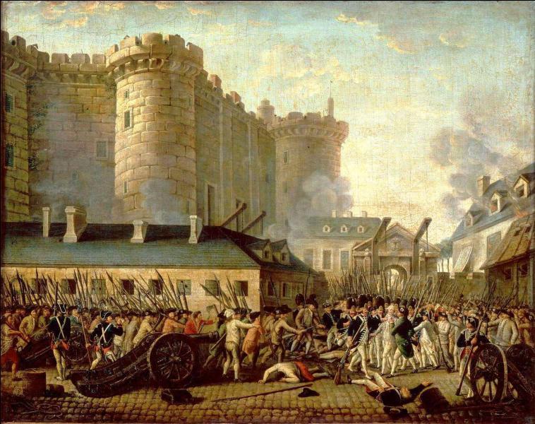 Quand la prise de la Bastille a-t-elle eu lieu ?