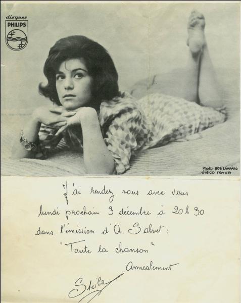"""Bon, je vous invite à jouer ma série """"Visitons Paris"""", beaucoup plus intéressante et subtile. Pour moi """"Sheila"""" que je m'éclate. Au fait, Sheila elle a eu 70 ans elle aussi (la photo la trahit)."""