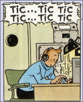 Le grand retour de Tintin à la radio a des échos même au Québec. Ce personnage culte, fascinant et parfois, avouons-le un peu suranné, drague la vieille dame des communications. C'est bien la seule fois qu'il drague ! Ça, c'est une autre histoire. Les débuts de Tintin à la radio dans une série datent de...à...