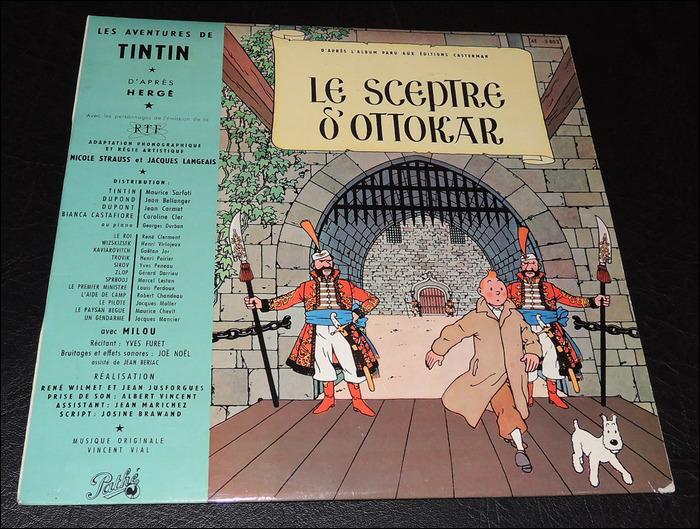 """Il y avait eu aussi 6 disques vinyls : """"Les Bijoux de la Castafiore, Le Lotus bleu, Objectif Lune, et On a marché sur la Lune"""" Allumez-vous un bon cigare, méditez, et dites-moi les deux qui manquent..."""