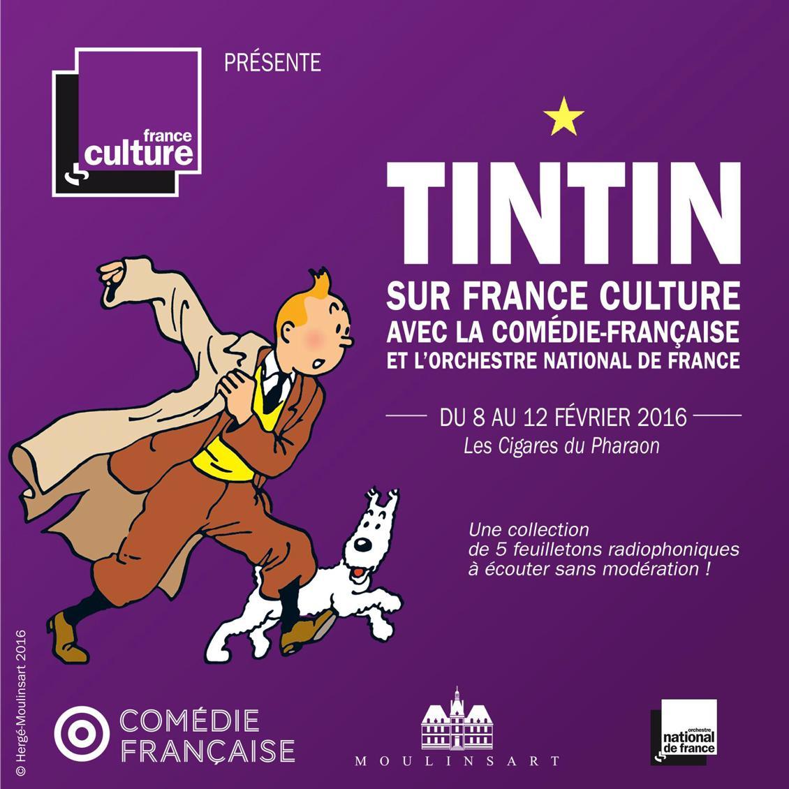 Tintin à la radio