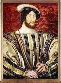 """""""François Ier"""", roi de France de la famille des Valois, a accueilli Léonard de Vinci à la cour."""