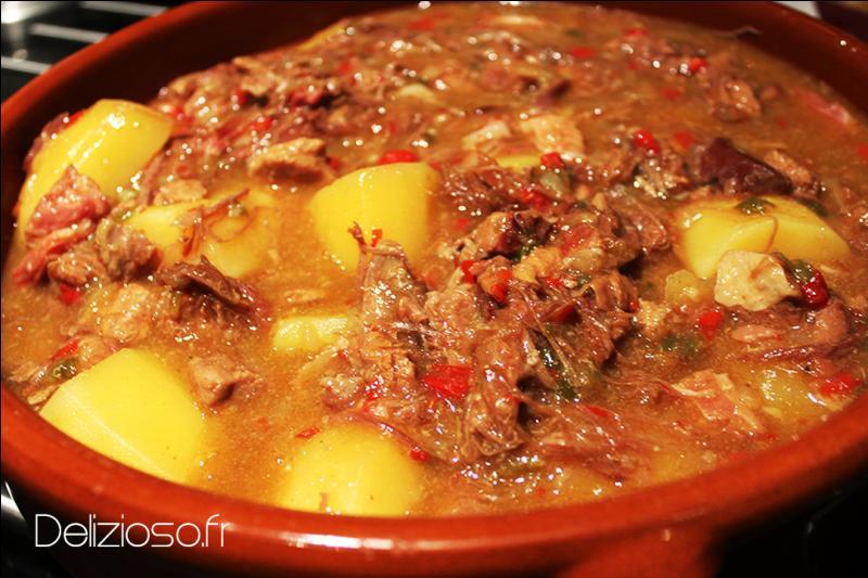 Ce ragoût de veau est une spécialité basque, quel est son nom ?