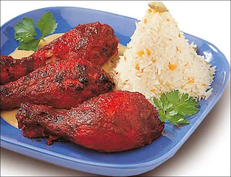 On vous sert un poulet Tandoori. Dans quel restaurant êtes-vous ?