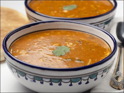 """On nous présente une soupe nommée """"harira"""", où sommes-nous ?"""