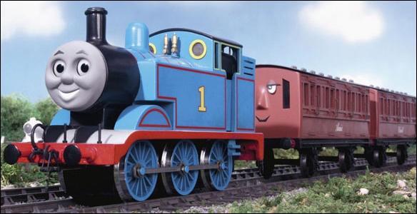 De quel dessin animé ce train est-il un personnage ?
