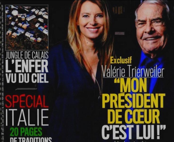 Dans quel hebdomadaire paru cette semaine, pouvait-on voir en couverture une Valérie Trierweiler transformée ?