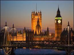 Si je vous dis Big Ben, London Eye, capitale de l'Angleterre, vous me dites ?