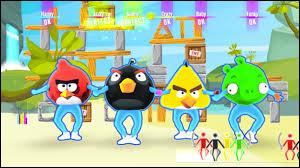 Dans la chanson d'Angry Birds, combien y a-t-il de Gold Move ?