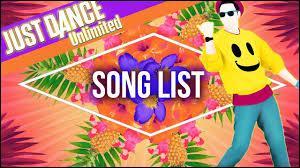 """Quelle est la première chanson sortie sur """"Just Dance Unlimited"""" ?"""