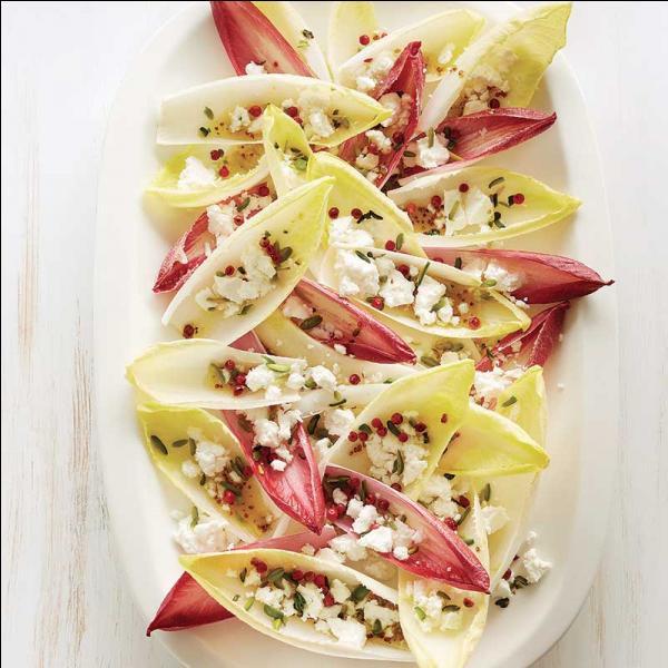Alors avant le dessert, voici une salade originale et de toute beauté....