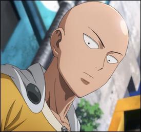 Dans l'anime, Saitama devient un héros de rang...
