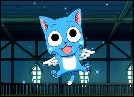 L'animal de compagnie du personnage principal est un chat volant (Exceed) qui se nomme ''Happy'' !