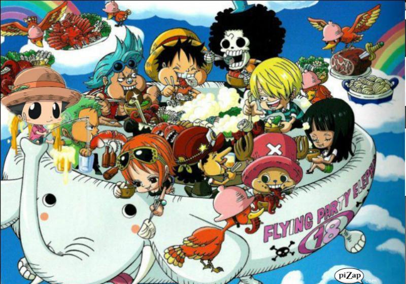 Le groupe principal de cet anime est composé de 9 personnes.