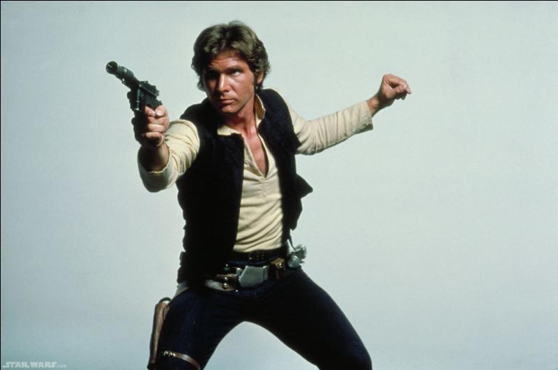 Dans quel film voit-on le capitaine Han solo incarné par Harrison Ford ?