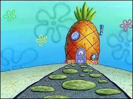 Quel personnage de dessin animé vit dans une maison en forme d'ananas ?