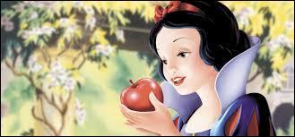 Quelle princesse va croquer dans une pomme empoisonnée ?