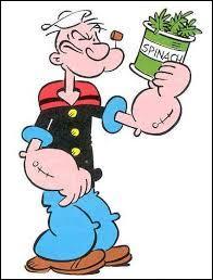 Quel personnage de dessin animé doit manger des épinards pour devenir très fort ?