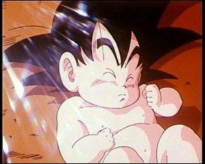 Sur quelle planète Son Goku est-il arrivé après la destruction de la planète Vegeta ?