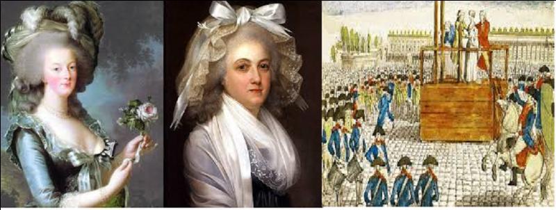 Le 16 octobre 1793, que perdit Marie-Antoinette en montant sur l'échafaud ? (Cet objet est conservé actuellement au musée des Beaux-Arts de Caen).