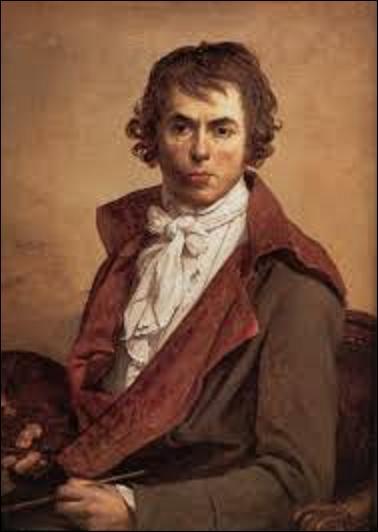 Quel artiste néo classique (1748-1825) était le peintre officiel de Napoléon Ier et du Premier Empire ?