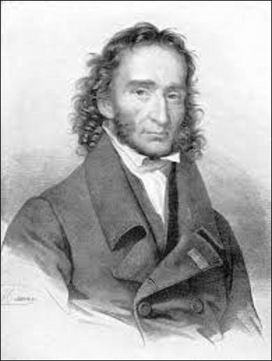 De quel instrument de musique le compositeur et musicien italien Nicolo Paganini (1782-1840) était-il un virtuose ?