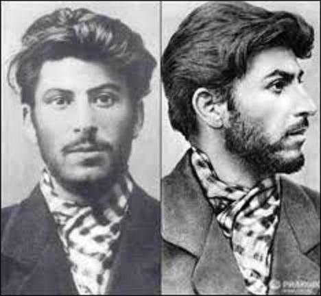 """De quel pays de l'ex U.R.S.S Joseph Vissarionovitch Djougachvili dit """"Staline"""" (1878-1953) était-il originaire ? (Photo de Staline étant jeune)."""