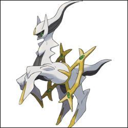 Arceus est-il un pokemon légendaire ou fabuleux ?
