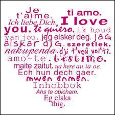 """Quelle langue votre ami devra-t-il parler si vous lui dites """"t'aimi"""" ?"""