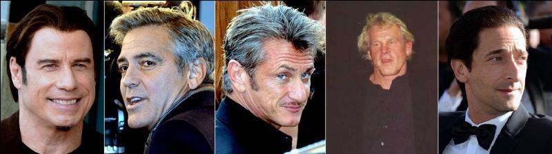Dans le désordre : John Travolta, George Clooney, Sean Penn, Nick Nolte et Adrien Brody. Quel est ce film au casting de choc ?