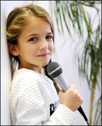 A quel âge a-t-elle commencé à chanter ? .. ans