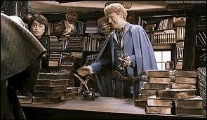 En allant acheter ses livres chez Fleury et Bott, Harry rencontre Gilderoy Lockhart puis les Malefoy. Que se passe-t-il lorsque Lucius Malefoy provoque Arthur Weasley ?