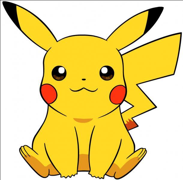 Que fait Pikachu quand il est mal à l'aise ?