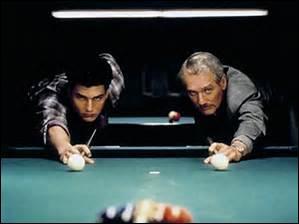 """Qui est cet acteur, """"le fortiche"""", jouant le rôle principal dans le film """"La couleur de l'argent"""" ?"""