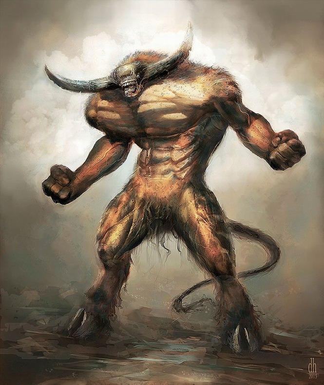 Les signes du zodiaque en monstres