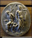 Je suis un satyre phrygien. Je fus écorché vif par Apollon en tentant de rivaliser avec lui sur l'art. Je suis...