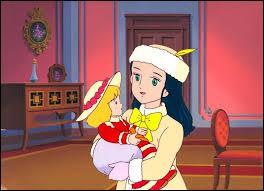 Comment s'appelle la princesse présentée sur l'image ?