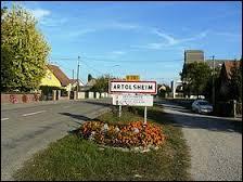 Nous arrivons à Artolsheim. Village Bas-Rhinois, il se trouve en région ...