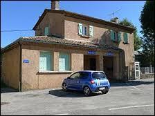 Petit village Drômois de 48 habitants, Le Chaffal se situe en région ...