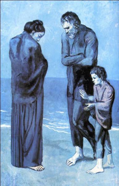 "Qui a peint ""Les pauvres au bord de la mer"" ?"