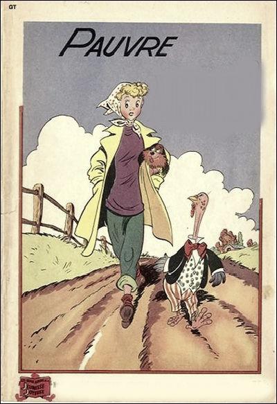 Quelle est cette bande dessinée des années 60 ?