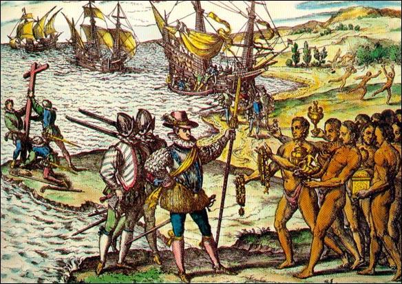 À quelle date Christophe Colomb débarque-t-il en Amérique pensant avoir atteint l'Inde ?