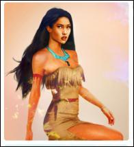 Les filles, c'est Jane ; je voulais vous dire que Pocahontas devait promener son chien avant de sortir. Quel est son nom ?