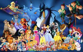 Les personnages des dessins animés sont partout
