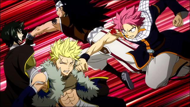 """Un combat de chasseurs de dragon ! Quel est ce combat dans """"Fairy Tail"""" ?"""
